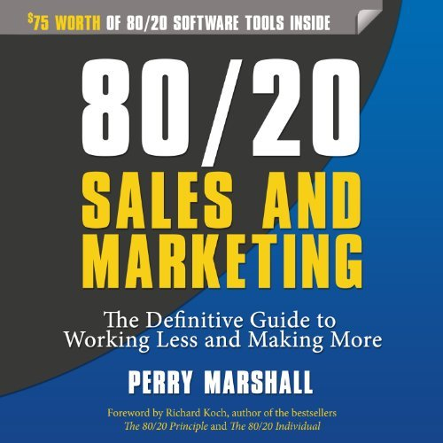 80 20 sales and marketing perry marshall